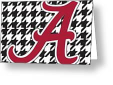 Roll Tide Mini Canvas Greeting Card