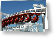 Roller Coaster 5 Greeting Card