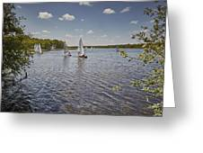 Rollesby Broad Greeting Card