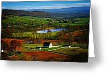 Rolling Countryside Greeting Card