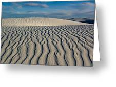 Rolling Dunes Greeting Card