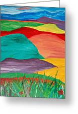 Rolling Hills Greeting Card