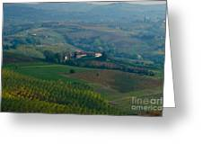 Rolling Hills Of The Piemonte Region Greeting Card