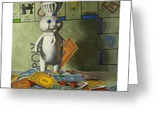 Rolling In Dough Greeting Card