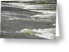 Rolling Rapids Greeting Card