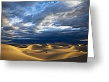 Rolling Sand Dunes Greeting Card