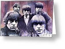 Rolling Stones  Greeting Card