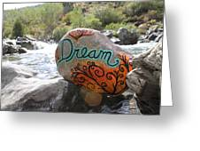 Rolling Water Dreams Greeting Card