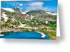 Rollins Pass Study 5 Greeting Card
