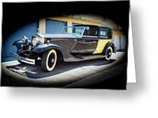 Rolls-royce Phantom II 1929 Greeting Card