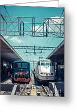 Roma Termini Railway Station Greeting Card