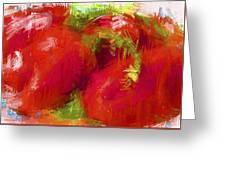 Roma Tomatoes Greeting Card