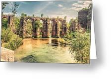Roman Aqeduct I Greeting Card