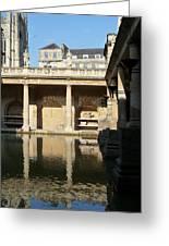 Roman Baths Greeting Card