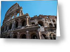 The Colosseum Of Rome Greeting Card