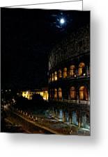 Roman Colosseum Greeting Card