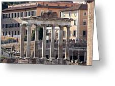 Roman Columns Greeting Card