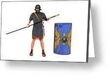 Roman Marine Optio 1st Cen Ad Greeting Card