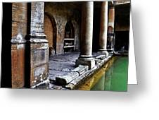 Roman Pillars  Greeting Card