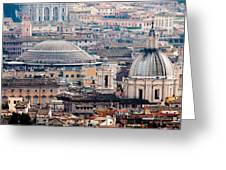 Roman Rooftops Greeting Card