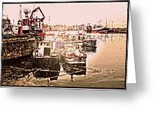Romance In Howth Greeting Card