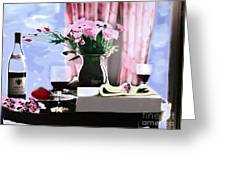 Romance In The Afternoon 2 Greeting Card