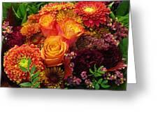 Romance Of Autumn Greeting Card