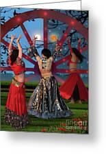 Romani Dance Greeting Card