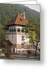 Romanian Villa Greeting Card