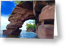 Roman's Point Arch Greeting Card