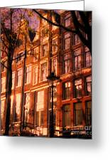 Romantic Amsterdam Greeting Card