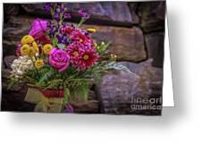 Romantic Bouquet 3 Greeting Card