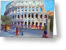 Rome Colosseum Greeting Card