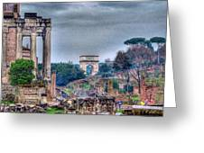 Rome Horizon Greeting Card