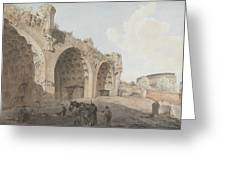 Rome Landscape Greeting Card