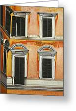 Rome-late Afternoon Greeting Card