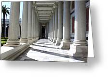 Rome Pillars Greeting Card