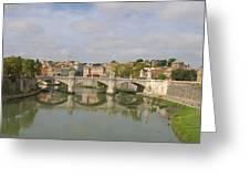Rome Reflections Greeting Card