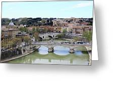Rome River Greeting Card