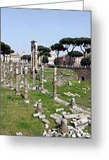 Rome Ruins Greeting Card