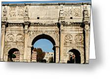 Rome - The Arch Of Constantine 3 Greeting Card