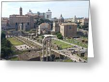 Rome The Old New World Greeting Card