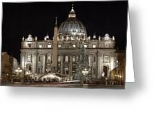 Rome Vatican Greeting Card
