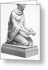 Rome: Vestal Virgin Greeting Card