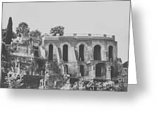 Rome Views Greeting Card