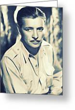 Ronald Colman, Hollywood Legend Greeting Card