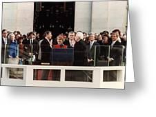 Ronald Reagan Inauguration - 1981 Greeting Card