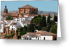 Ronda. Andalusia. Spain Greeting Card by Jenny Rainbow