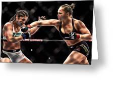Ronda Jean Rousey  Greeting Card