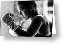 Ronda Rousey Fighter Greeting Card